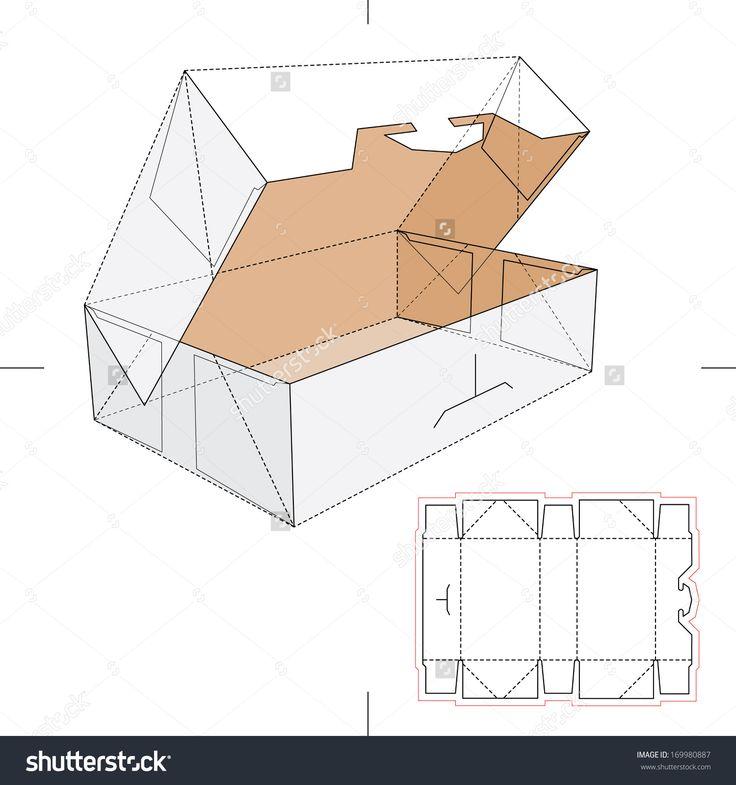 Blueprint Box With Blueprint Layout Stock Vector Illustration 169980887 : Shutterstock