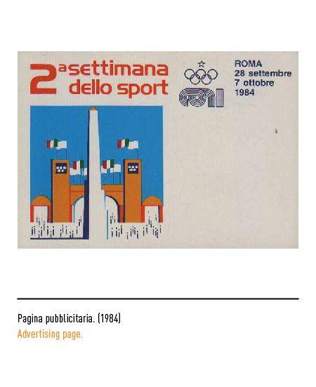 Marchio Coni - Pagina pubblicitaria 1984