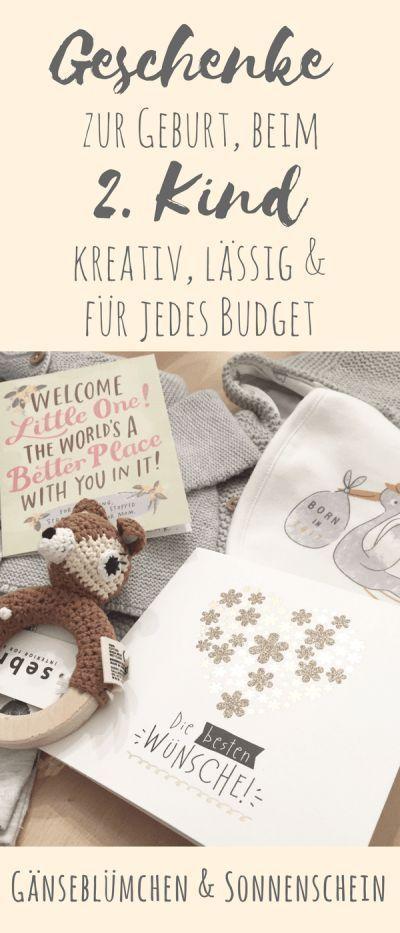 Die besten Babygeschenke fürs 2. Kind – kreativ, lässig & für jedes Budget