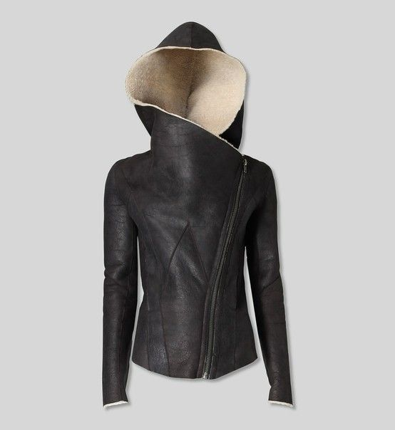 Helmut Lang – Weathered Shearling Jacket    followpics.co