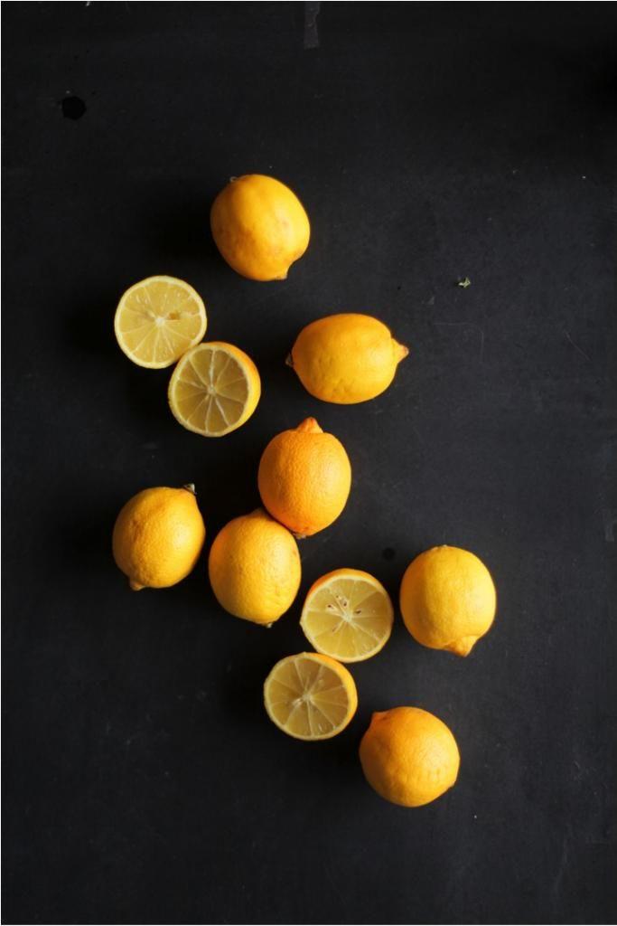 lemon yellow and slate