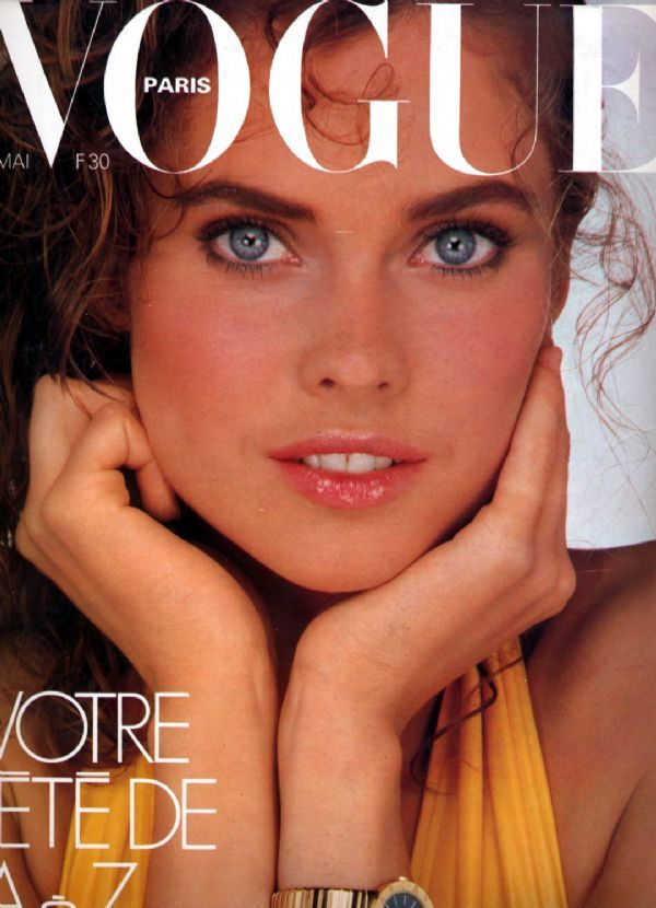 Carol Alt 1981 French Vogue
