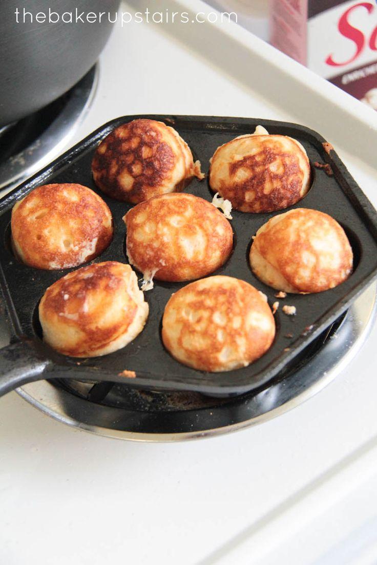 the baker upstairs: aebleskivers (pancake balls)