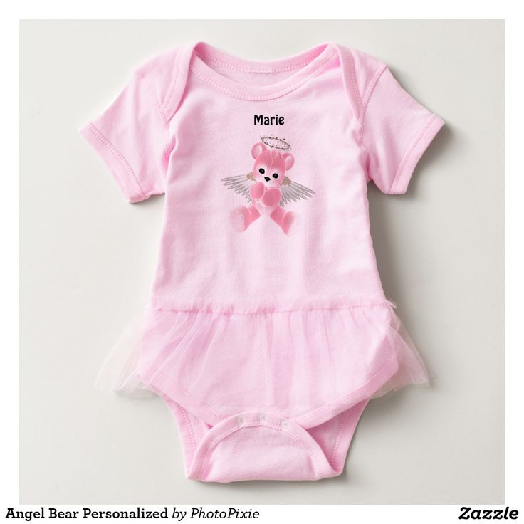 Angel Bear Personalized