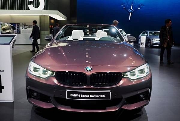 2017 Bmw 440i Convertible In Smoked Topaz And With M Performance Bmw 2017 Bmw Smoked Topaz