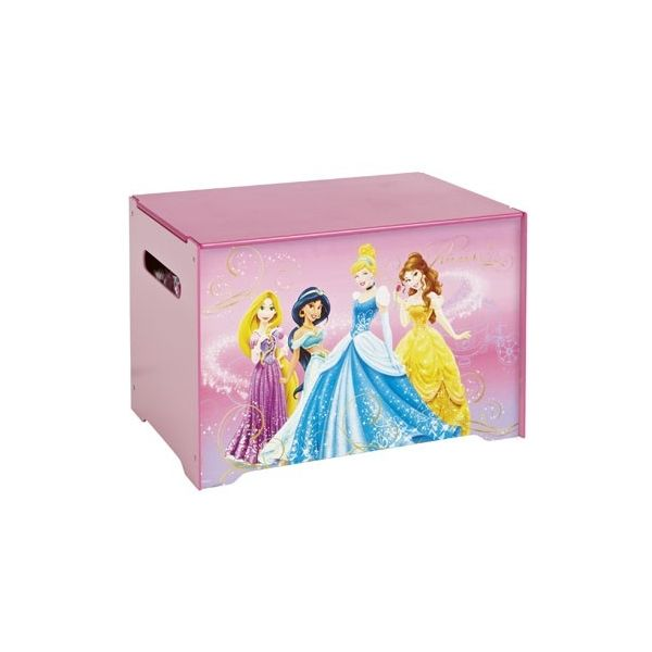 coffre de rangement disney princesses mobilier enfant. Black Bedroom Furniture Sets. Home Design Ideas