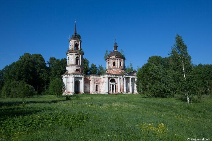 Заброшенные церкви Переславского района (Ярославская область). Часть 2