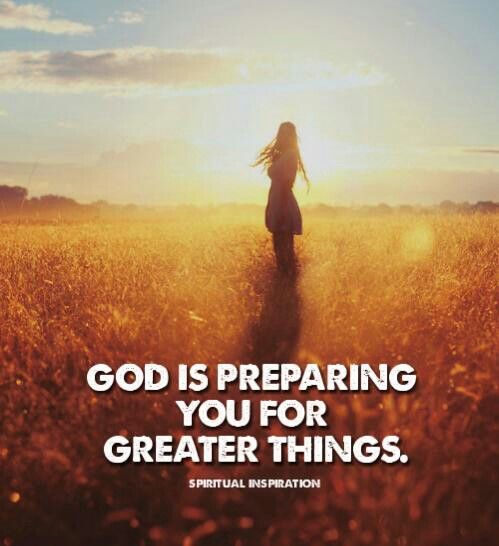 most people find it hard to believe that God is preparing ...
