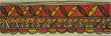 madhubani art fish - Google Search