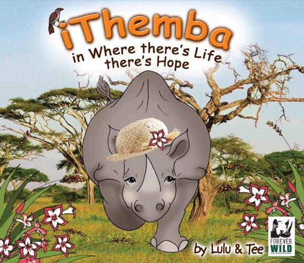 Journey to Africa with iThemba the rhino - story told in rhyme and aimed at 3 - 7 year olds.  #rhino #picturebook #education #children #childrensbooks , also available on the AppStore #edtech