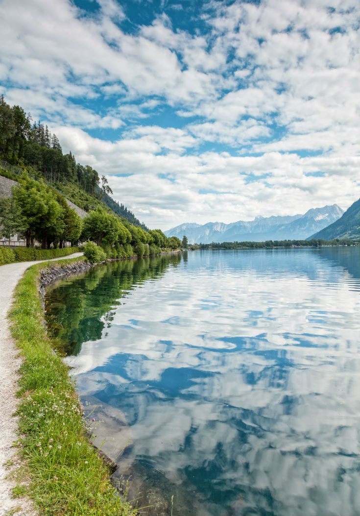 Lake in Zell Am See, Austria. #Austria #nature #Europe