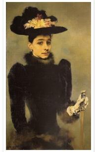 Viscountess Matilde da Silva Amado by Columbano Bordalo Pinheiro