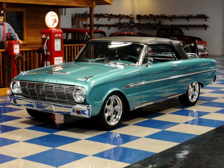 A & E Classic Cars : Classic Cars For Sale : 1963 Ford Falcon Futura Sports Convertible