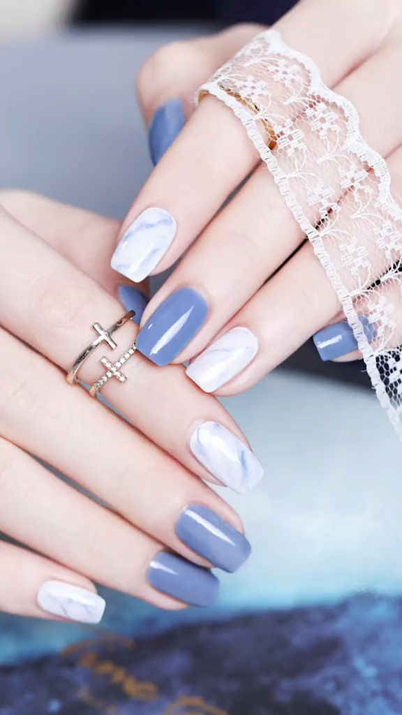 These Nail designs have clean, classy, minimalist style that you absolutely adore. These desaturated palettes are to deserve for.