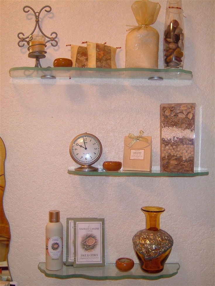 You Can Get Small Glass Shelves With Different Shapes!