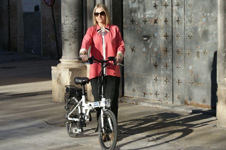 #bicicletaelectrica @Chimobi e-movement Bicicleta electrica plegable
