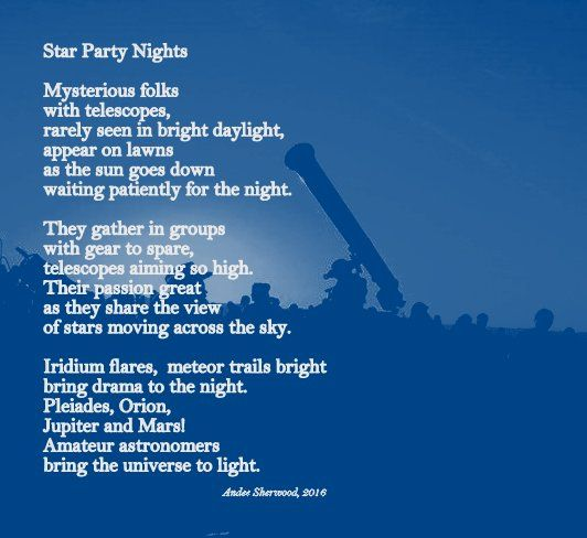 astronomy poems that rhyme - photo #37