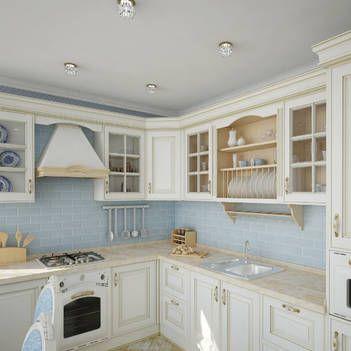 Кухня в стиле Прованс: 100 лучших идей оформления с фото