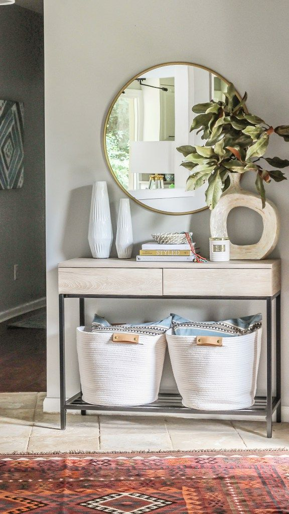 Modern Farmhouse Console Tables Under 200 Roundup Affordable