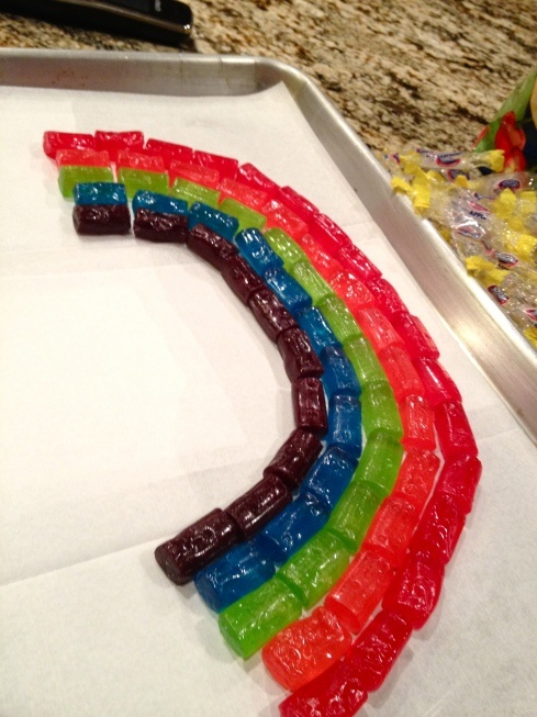 Tasty Jolly Rancher Rainbow