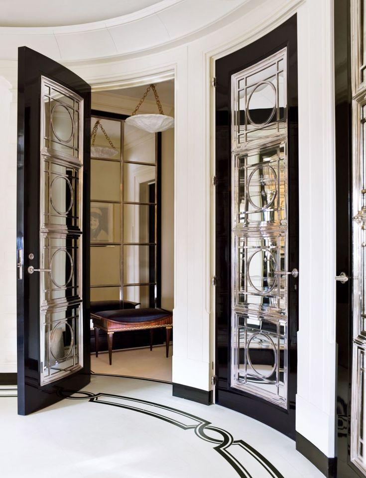Traditional Entrance Hall by David Kleinberg Design Associates and David…