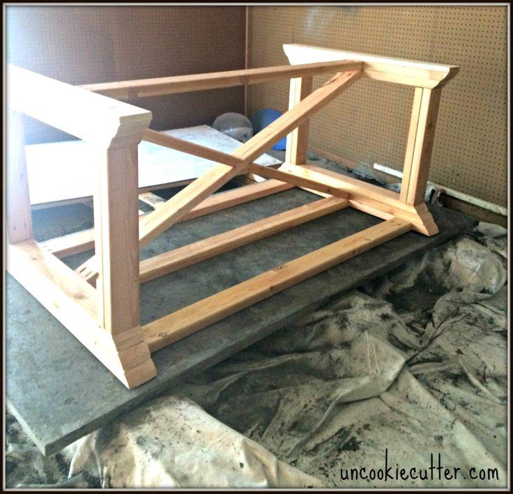 Best 25+ Concrete dining table ideas on Pinterest | Concrete table ...