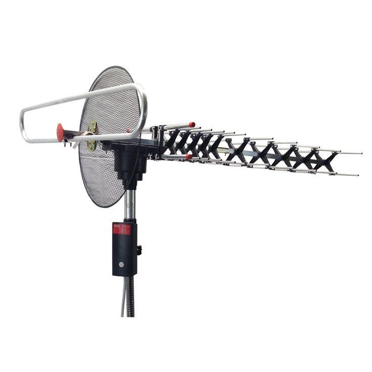 BoostWaves Digital Outdoor UHF/VHF/FM Signal Reception Hdtv 360-degree Rotation Parabolic Focusing TV Antenna #BoostWaves.893GT