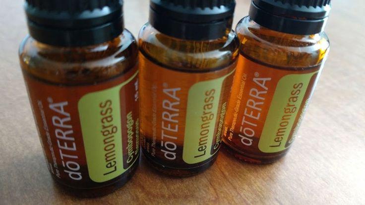 doTerra Lemongrass Essential Oil 15 ml Bottle New Sealed Aromatherapy Detox #DoterraDoTerradoTERRA