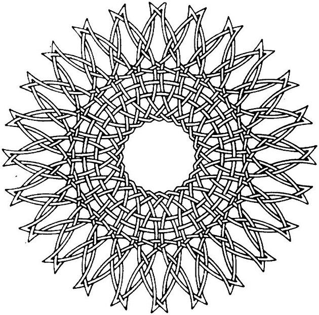 free printable mandala geometric kaleidoscope coloring pages new pages added every month