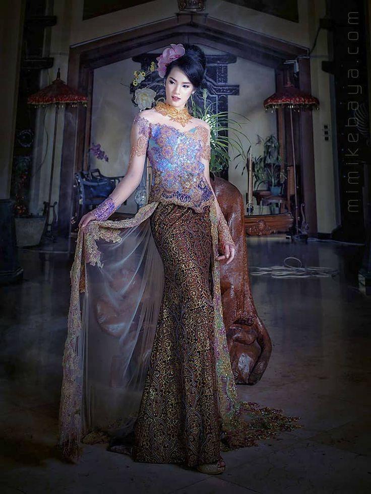 Kebaya Modern Mewah Tapi Simpel Gaun Pengantin Gaun Pengantin