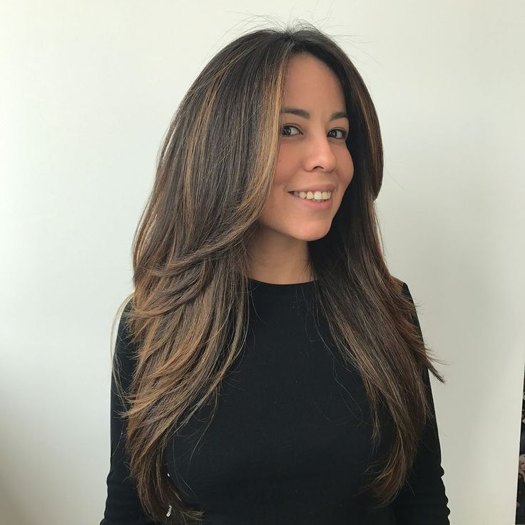Trendy Hairstyles and Haircuts for Long Layered Hair To Rock in 2019