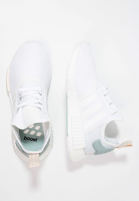 adidas Originals NMD_R1 W - Trainers - white/tactile green for £99.99 (06/12/16) with free delivery at Zalando