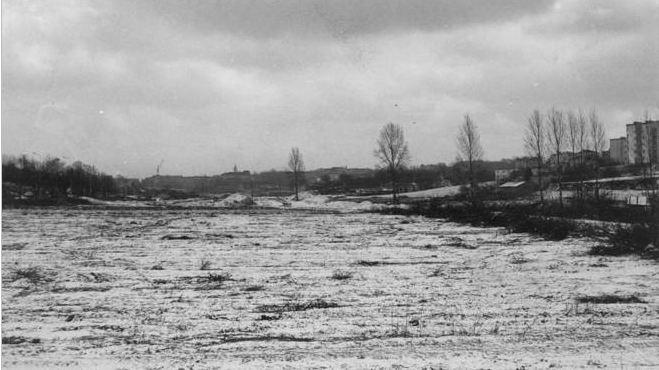 Lublin, luty 1973, budowa trasy W-Z