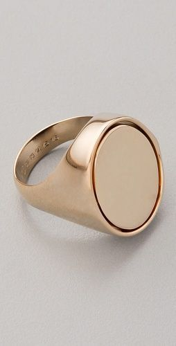 maison martin margiela flip ring Hi Wholesale prices for Gold Signet Rins at http://etsy.me/1RNyLFP