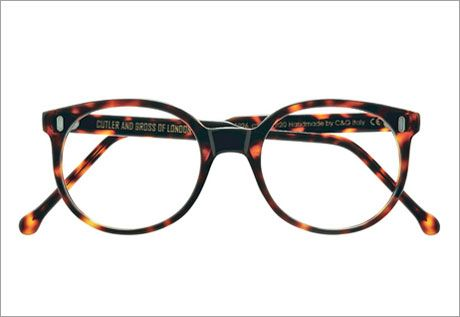 Eyeglasses for Older Women | The slightly irregular shape of these circular frames by the classic ...