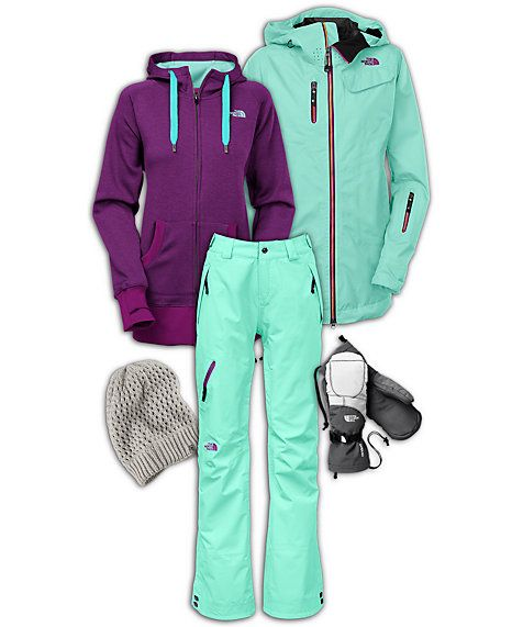 The North Face Women's Backcountry Snowboard Outfit.. If I ever went snowboarding