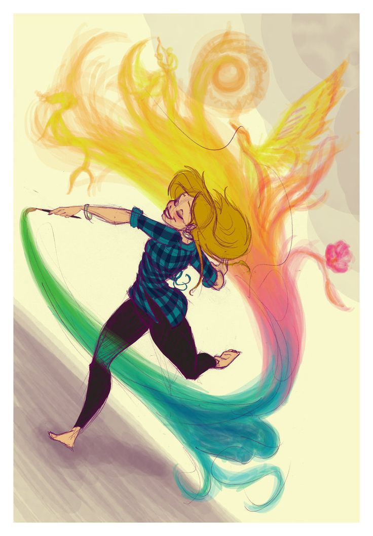 They said it was the paintbrush, but I knew better. That girl had magic inside…