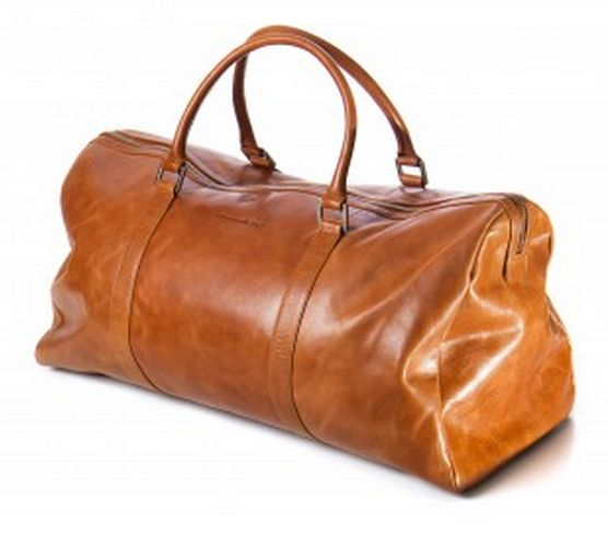 "Going away for the weekend?  Then you should take a look at this exclusive ""Kastrup Weekender"" leather bag in Golden Tan.  This bag is very spacious, has leather handles and a detachable shoulder strap, that will make it much easier for you to take all of your belongings with you.  For more information check out our brand new webshop at www.dbramante1928.com."