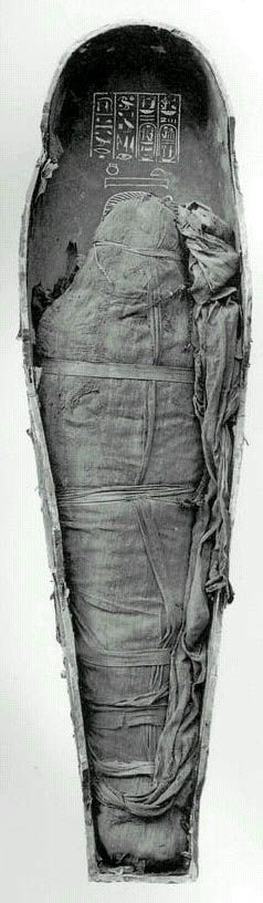 Amenhotep III wrapped. Facts about his mummy