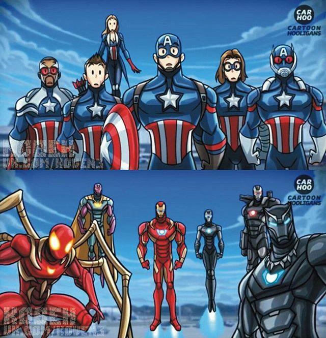 Чей апгрейд лучше?) #человекпаук #капитанамерика #железныйчеловек #комиксы #людиикс #комикс #мстители #марвел #бэтмен #дс #фильмы #фильм #супермен #халк #супергерой #флэш #тор #дедпул #росомаха #кино #джокер #marvel #marvelcomics #comics #Ironman #hulk #thor #batman #joker #spiderman