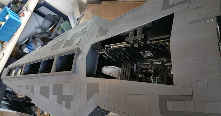 Witness The Galactic Republic's Power With This Star Destroyer Gaming PC