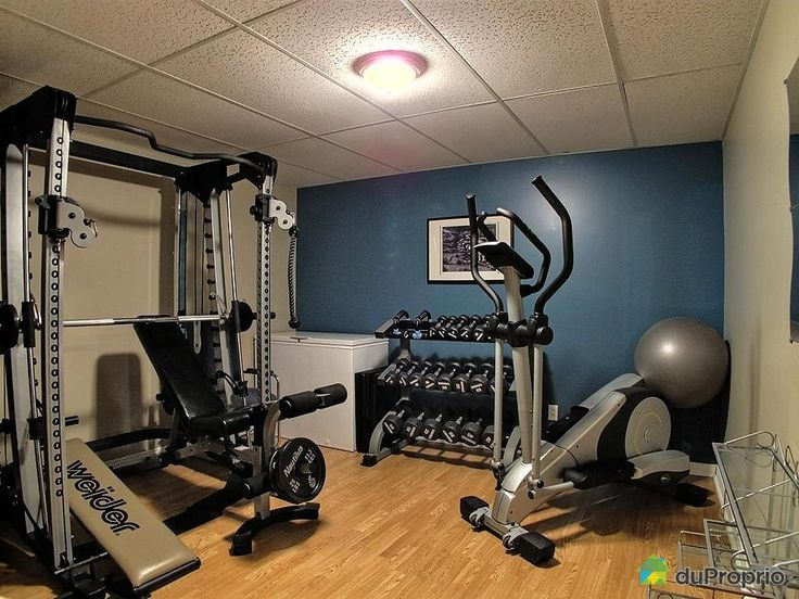 Enchanting Home Workout Room Contemporary Best Picture Interior
