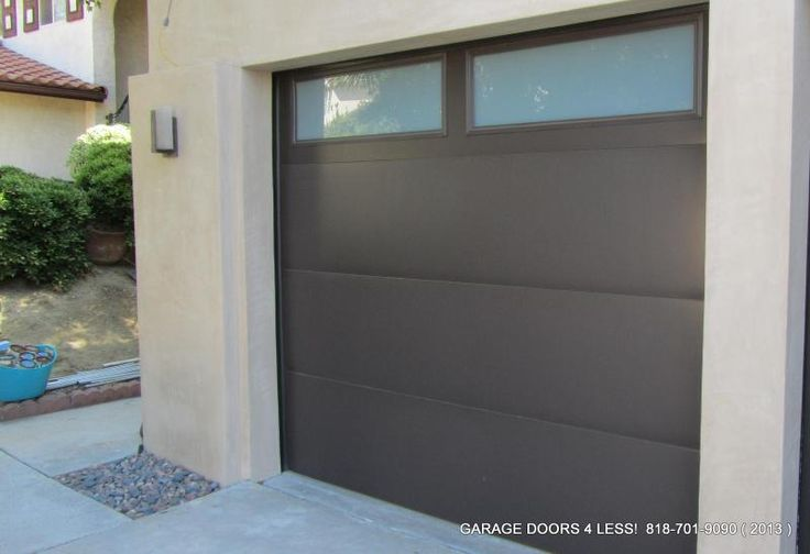 Garage doors 4 less flush panel doors pinterest for Flush panel wood garage door