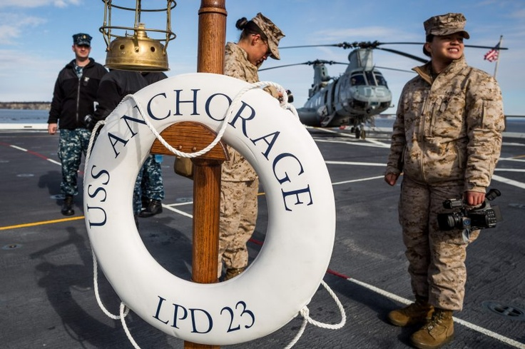 USS Anchorage a nittygritty naval work horse Alaska