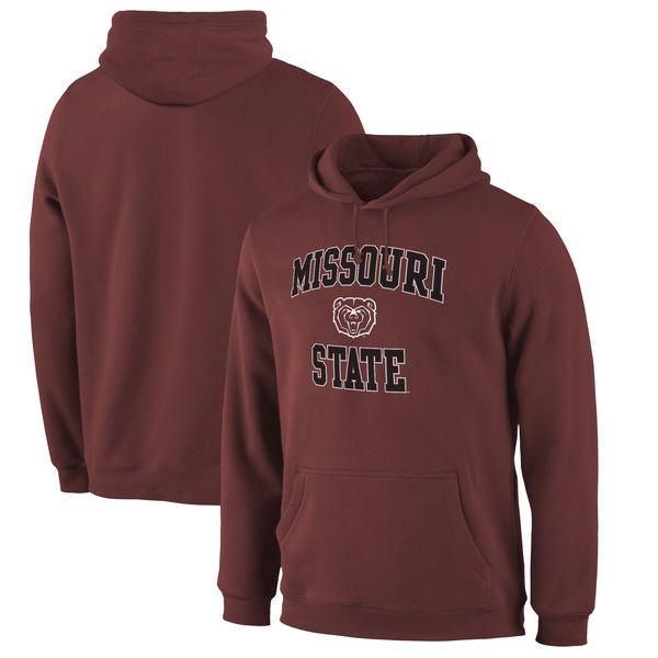 Missouri State University Bears Fanatics Branded Campus Pullover Hoodie - Maroon - $34.99