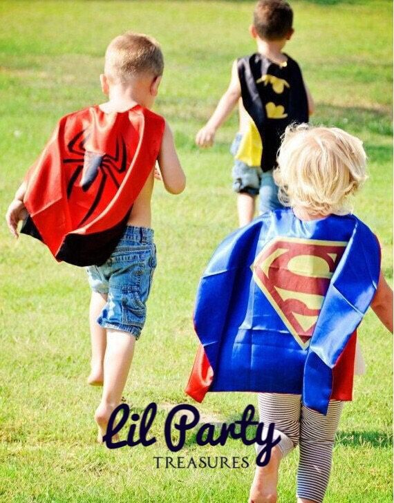 10x Spiderman Superhero Capes. Superhero Birthday Party. Birthday Party Favors. by LilPartyTreasures on Etsy