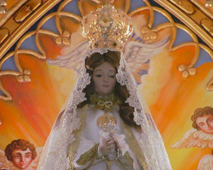 La hermosa Virgen del Valle, Margarita, #Venezuela