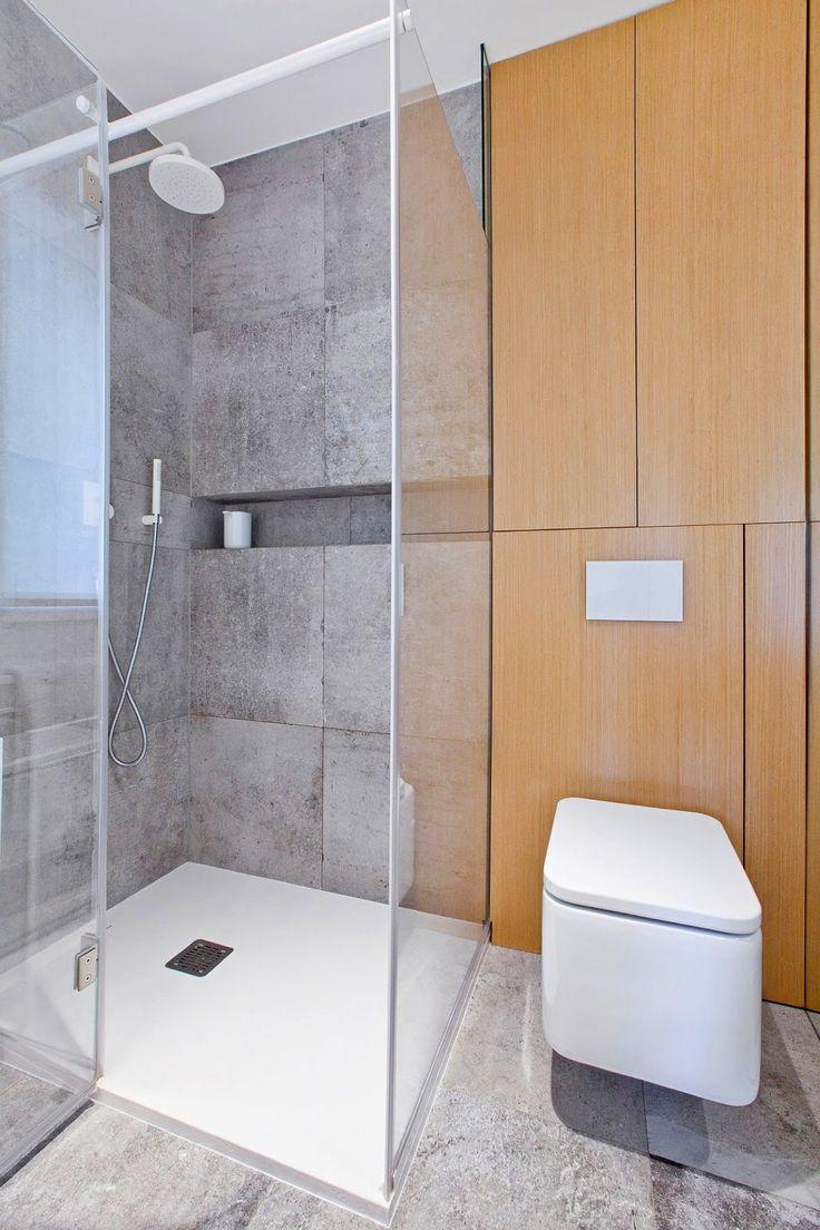 Современная душевая кабина, фото http://goodroom.com.ua/mag/sovremennyj-semejnyj-dom-ot-spacelab/ #Bathroom #Interiors