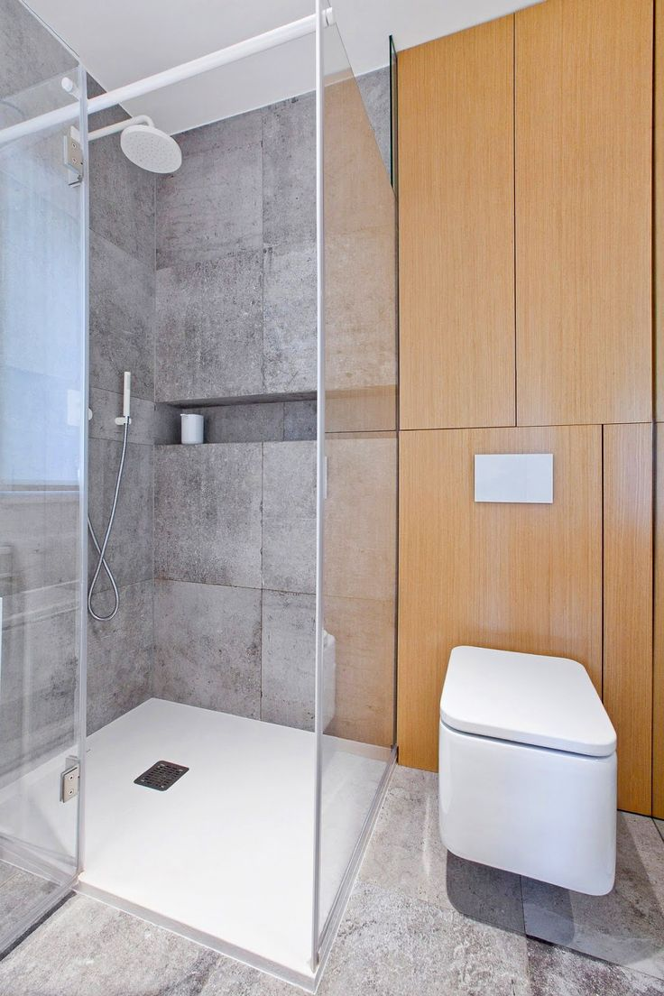Современная душевая кабина, фото http://goodroom.com.ua/mag/sovremennyj-semejnyj-dom-ot-spacelab/ #Bathroom #Interiors