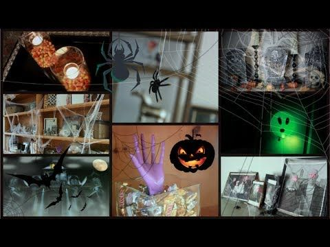 DIY Halloween Room Decor! - YouTube